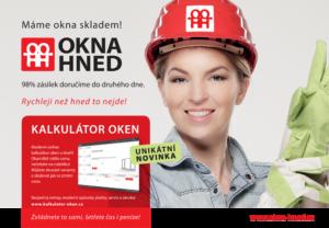 OKNA HNED